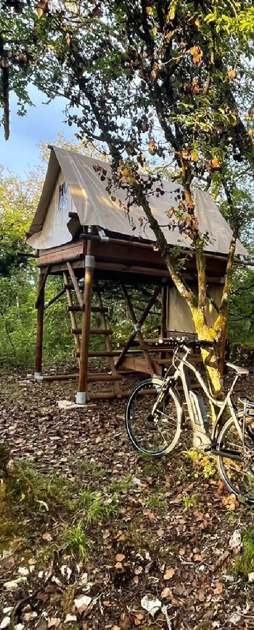 Nos bicicleta camps